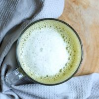 How to Make a Dairy Free Matcha Latte