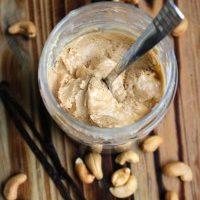 Homemade Vanilla Cashew Butter