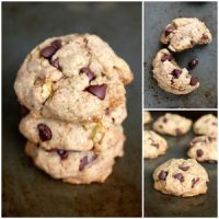 Vegan Maple Syrup Whole Wheat Chocolate Chip Cookies
