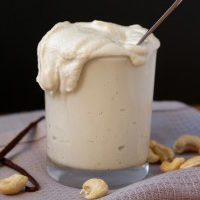 Maple Vanilla Cashew Cream