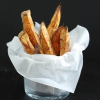Oil Free Baked Sweet Potato Fries