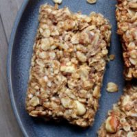 Peanut Butter Coconut Granola Bars
