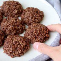Recipe Redux: No-Bake Cashew Butter Chocolate Oatmeal Cookies