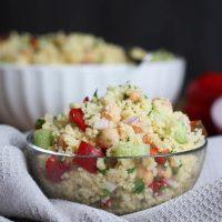 Simple Lemon Couscous Salad