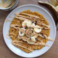 Single Serve Vegan Pumpkin Pancake