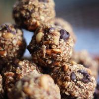 Peanut Butter Pretzel Cookie Dough Balls