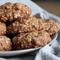 Vegan Coconut Oatmeal Cookies