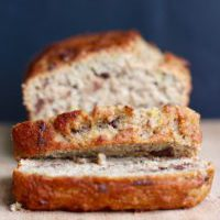 Vegan Oil Free Chocolate Chip Banana Bread