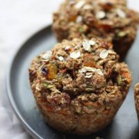 Healthy Everything Oatmeal Breakfast Muffins