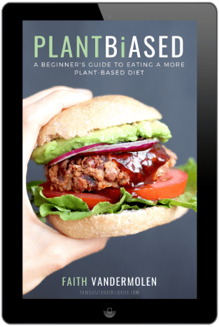 PLANT BIASED a beginner's guide to eating a more plant-based diet