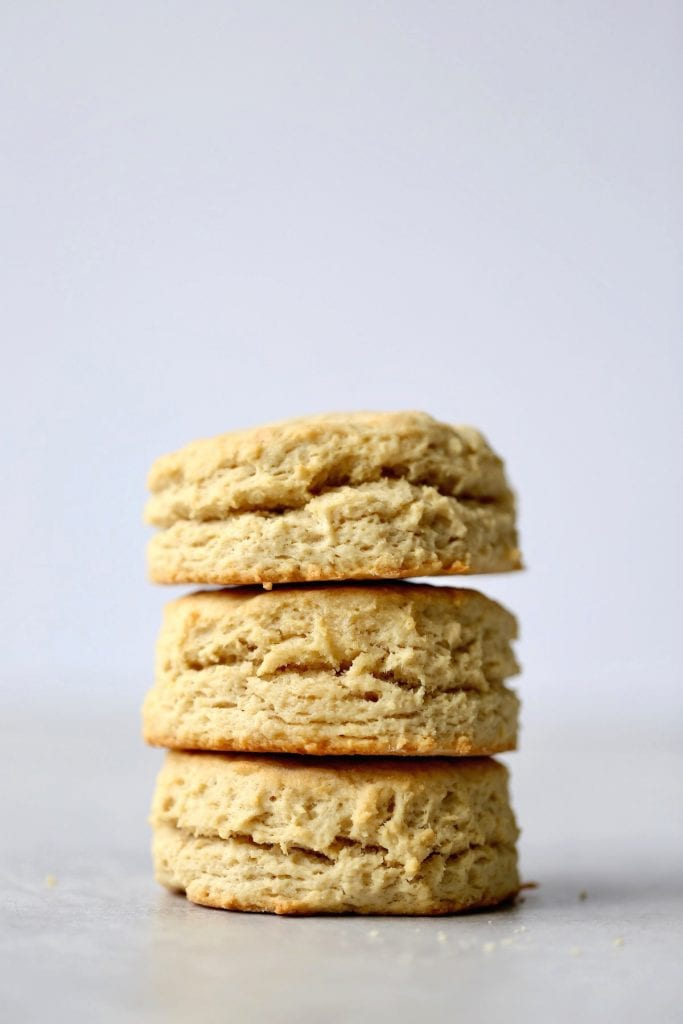 easy vegan biscuits