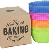 NY Baking Co. Silicone Baking Cups (Non Stick Muffin Liners) 24 Count