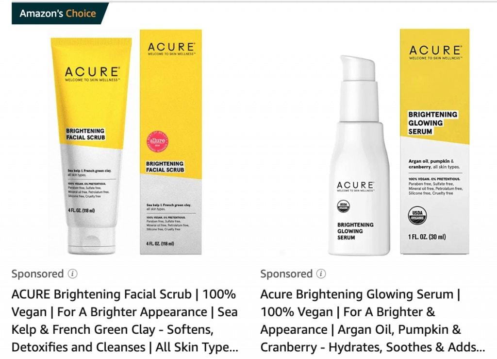 Acure Skin Care