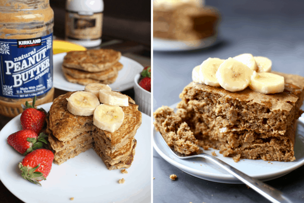 before and after photos highlighting food photography improvement