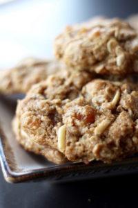 vegan cookies on a plate