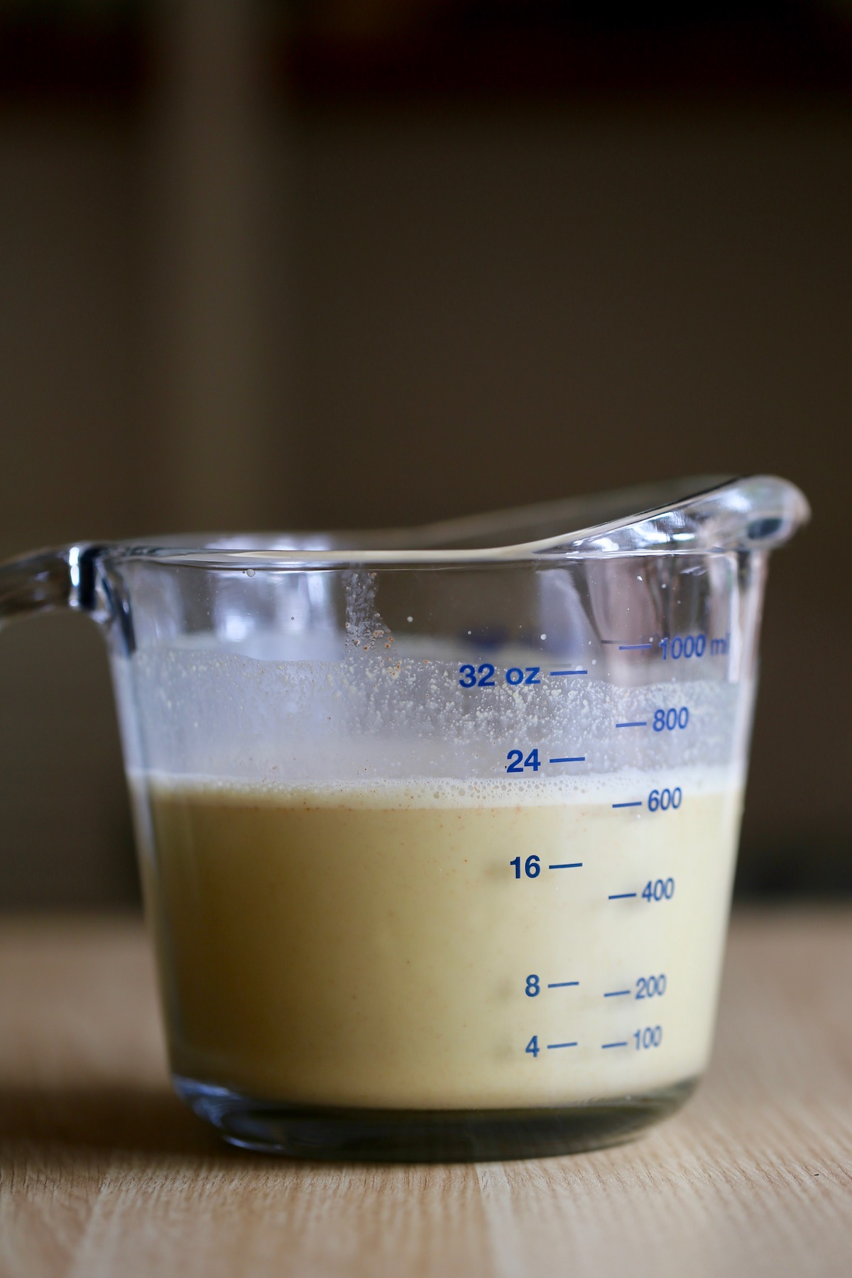 vegan cheese sauce made with almond milk and nutritional yeast