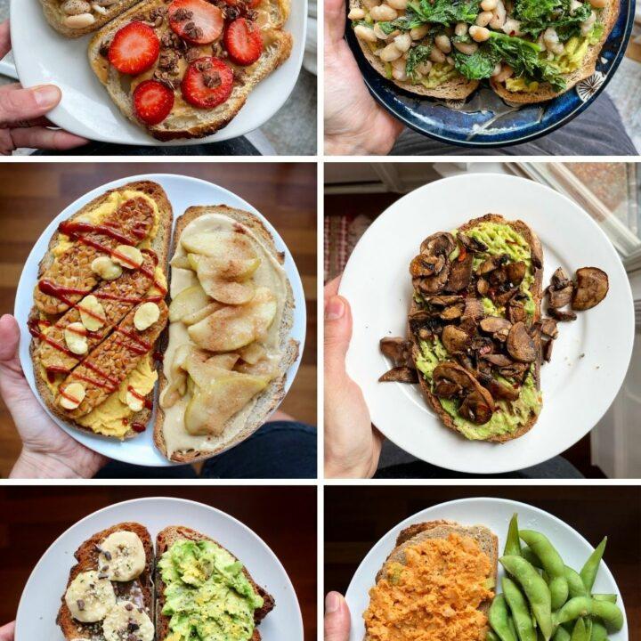 Plant-Based Toast Recipes