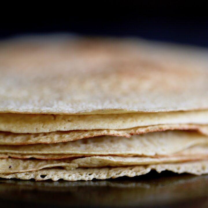 Savory Chickpea Flour Crepes
