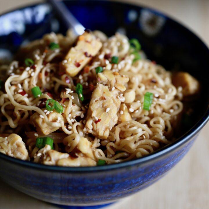 Quick Asian Ramen Noodles