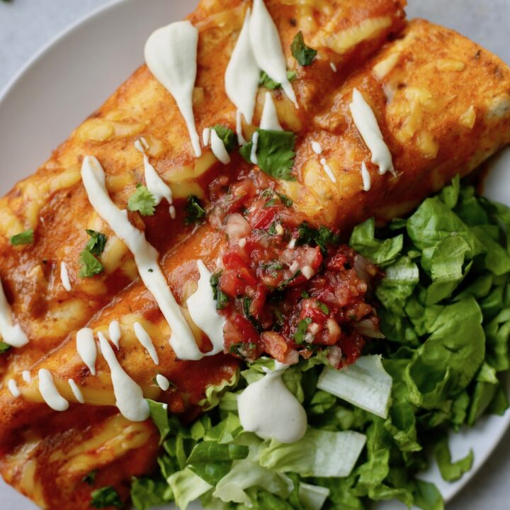 Easy Vegan Enchiladas!