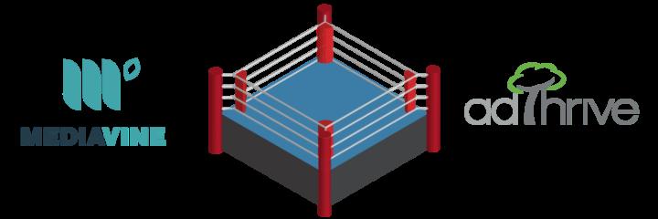 mediavine vs adthrive in the boxing ring