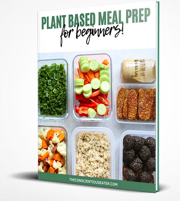 Plant Based Meal Prep Guide by The Conscientious Eater 3D cover