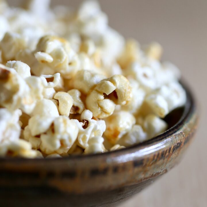 Vegan Kettle Corn Recipe